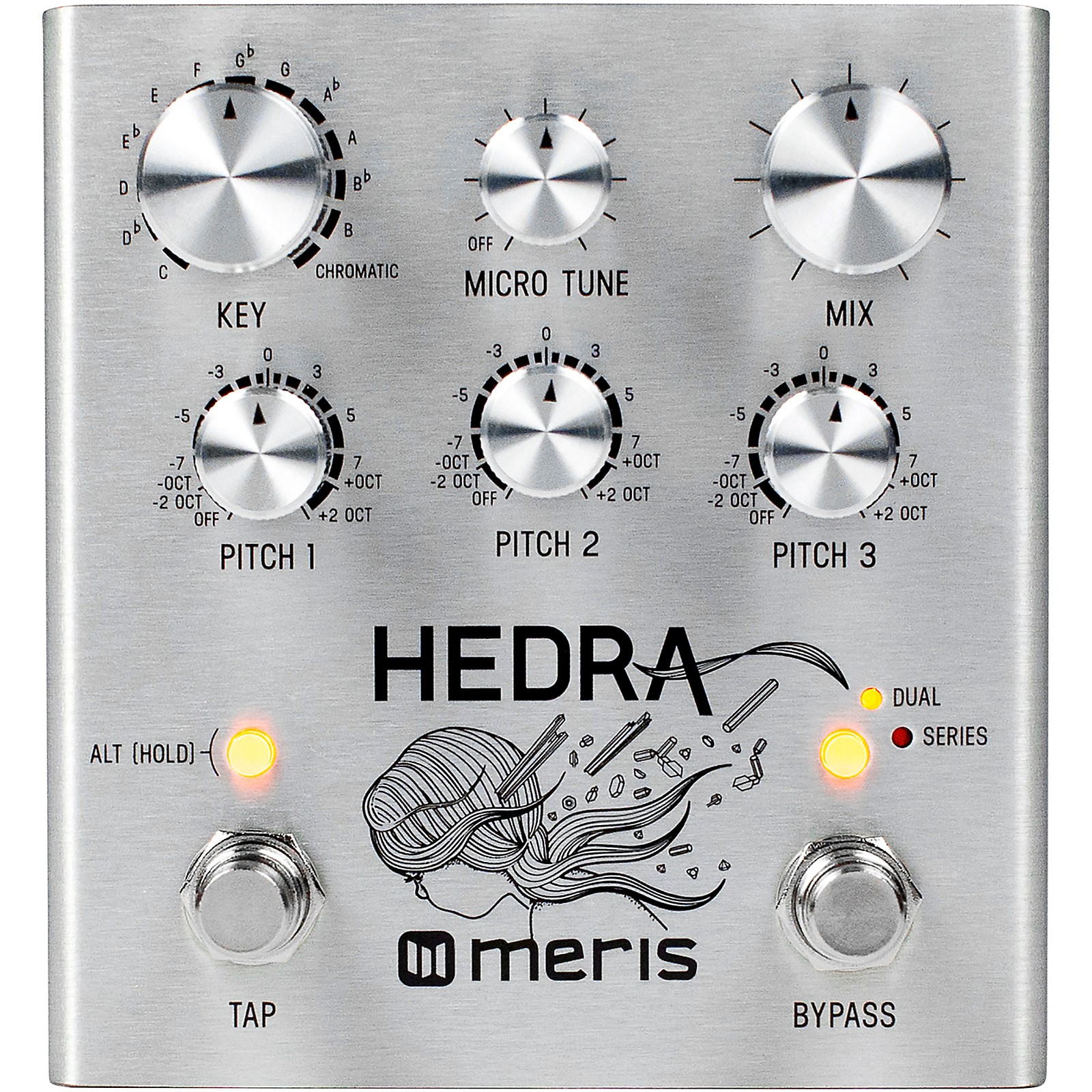 Meris Hedra Pitch Shifter Effects Pedal