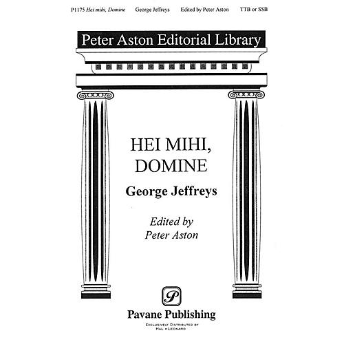 Banks Music Publications Hei Mihi, Domine TTB/SSA arranged by Peter Aston
