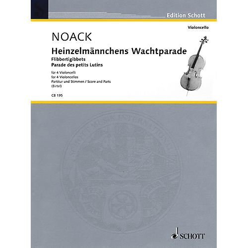 Schott Heinzelmännchens Wachtparade (March of the Brownies - Score and Parts) Misc Series Composed by Kurt Noack