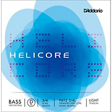 Helicore Orchestral Series Double Bass D String 3/4 Size Light