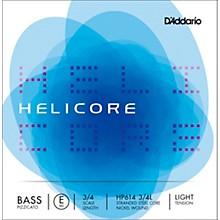 Helicore Pizzicato Series Double Bass E String 3/4 Size Light