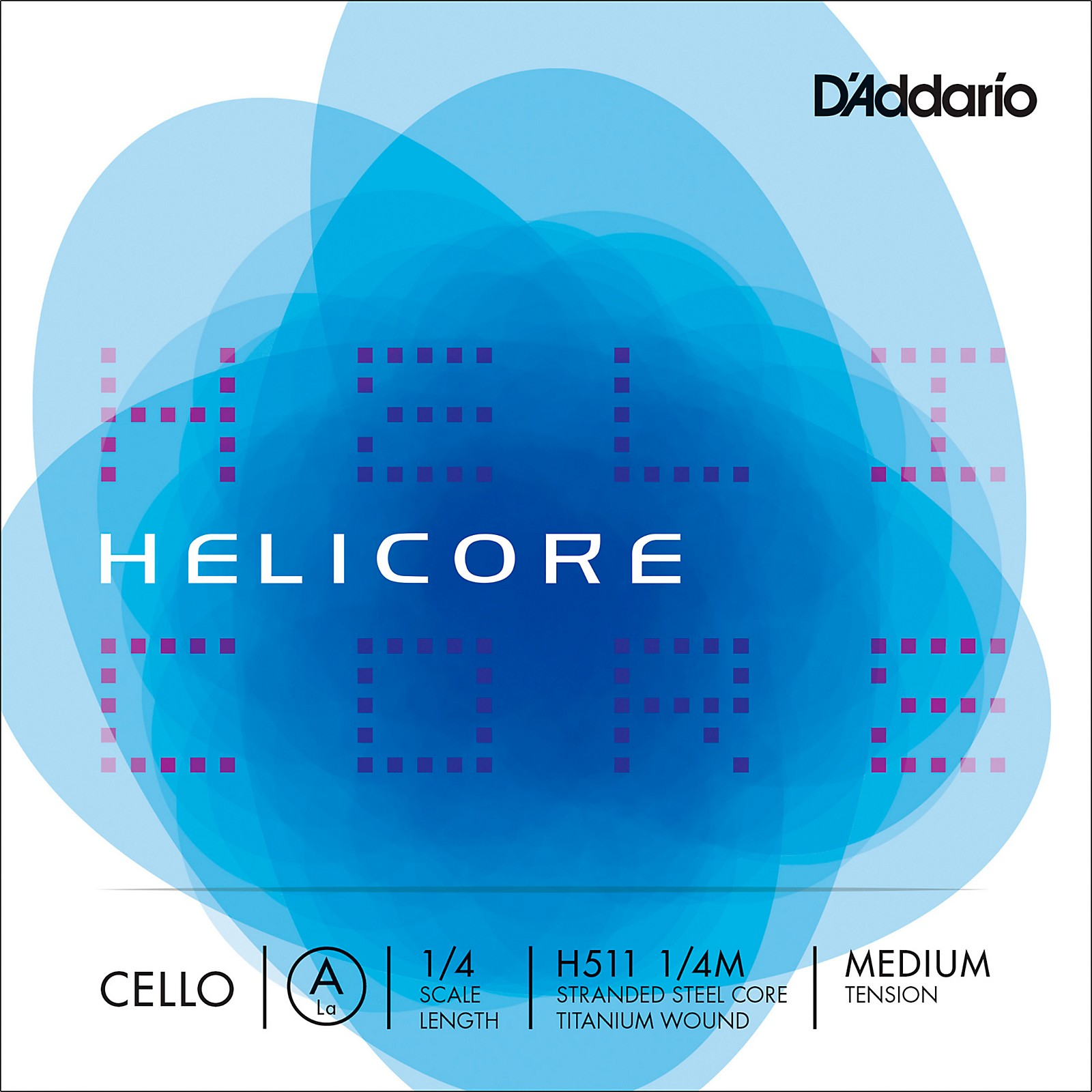 D'Addario Helicore Series Cello A String
