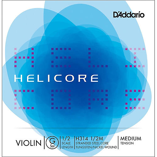 D'Addario Helicore Violin Single G String