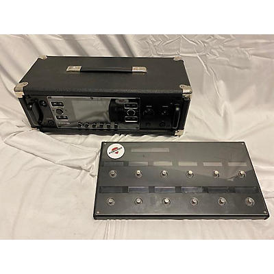 Line 6 Helix Multi-Effects Guitar Rack With Foot Controller Solid State Guitar Amp Head