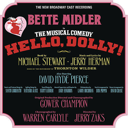 Alliance Hello Dolly (New Broadway Cast Recording)