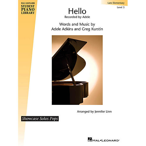 Hal Leonard Hello Piano Library Series Book by Greg Kurstin (Level Late Elem)