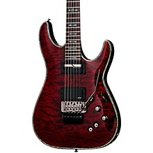 Open Box Schecter Guitar Research Hellraiser C-1 with Floyd Rose Sustainiac Electric Guitar