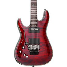 Open BoxSchecter Guitar Research Hellraiser C-1 with Floyd Rose Sustaniac Left-Handed Electric Guitar