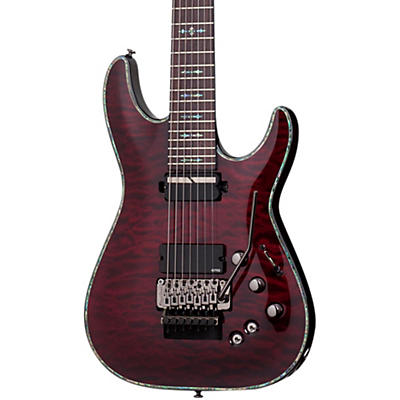 Schecter Guitar Research Hellraiser C-7 with Floyd Rose Sustaniac Electric Guitar