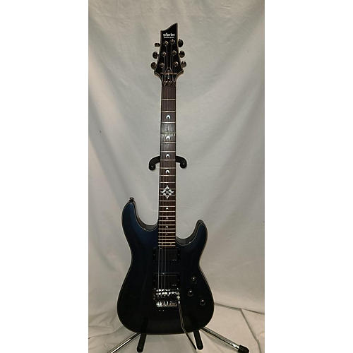 Schecter Guitar Research Hellraiser Deluxe Floyd Rose Solid Body Electric Guitar Midnight Sparkle