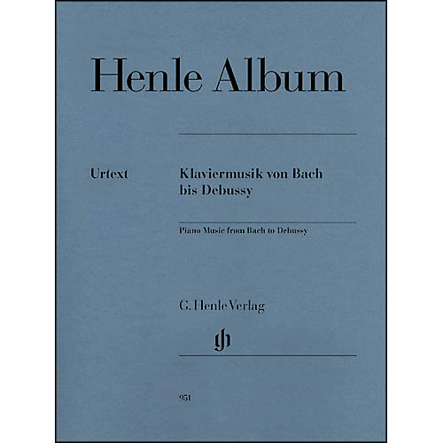 G. Henle Verlag Henle Album - Piano Music From Bach To Debussy