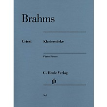 G. Henle Verlag Henle Music Folios Series: Klavierstucke [Piano Pieces] (Revised Edition) Softcover Book