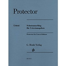 G. Henle Verlag Henle Plastic Protector (for Urtext Editions) - Henle Music