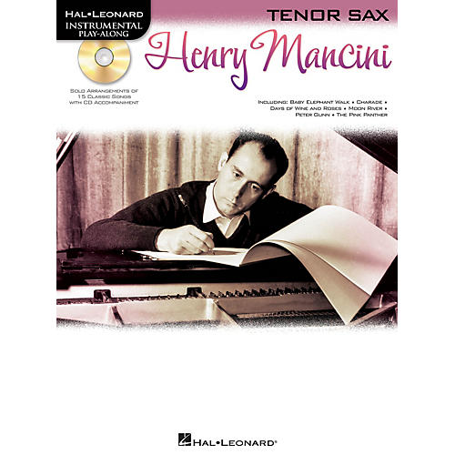 Hal Leonard Henry Mancini (Instrumental Play-Along for Tenor Sax) Instrumental Play-Along Series Book with CD