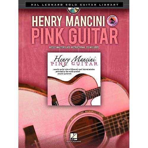 Hal Leonard Henry Mancini: Pink Guitar - Hal Leonard Solo Guitar Library Book/CD