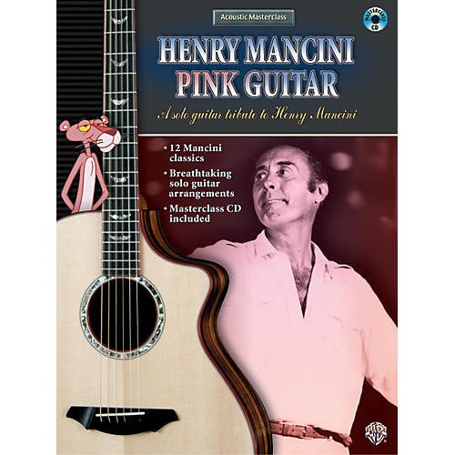 Alfred Henry Mancini Pink Guitar (Book/CD)