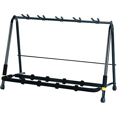 Hercules Hercules GS525B Five-Instrument Guitar Rack with Two Expansion Packs