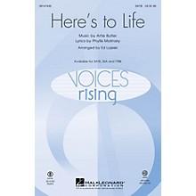 Hal Leonard Here's to Life TTBB Arranged by Ed Lojeski