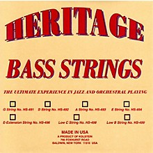 Heritage Orchestral / Jazz Bass Strings HS-494 Set