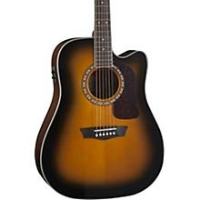 Open BoxWashburn Heritage Series HD10SCE Acoustic-Electric Cutaway Dreadnought Guitar