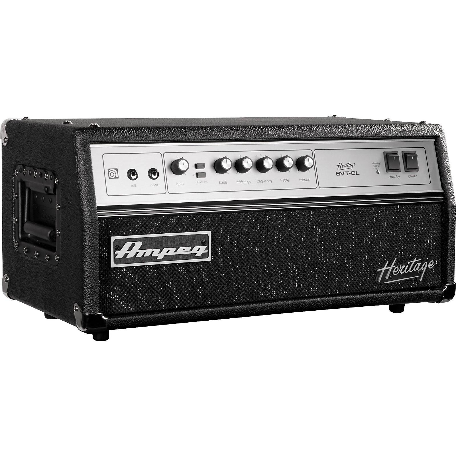 Ampeg Heritage Series SVT-CL 2011 300W Tube Bass Amp Head