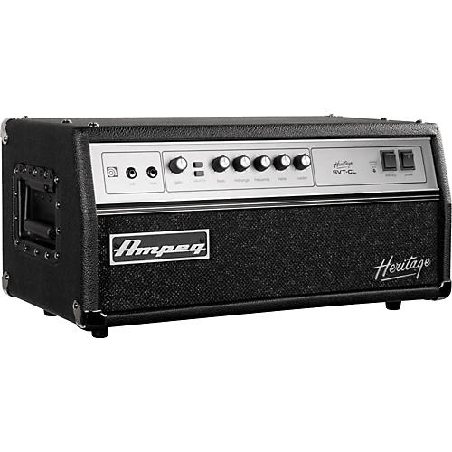 ampeg heritage series svt cl 2011 300w tube bass amp head musician 39 s friend. Black Bedroom Furniture Sets. Home Design Ideas