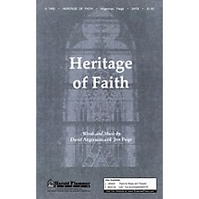 Shawnee Press Heritage of Faith SATB composed by David Angerman