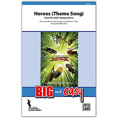 Alfred Heroes (Theme Song) Conductor Score 2 (Easy)