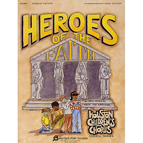 Fred Bock Music Heroes of the Faith (Sacred Children's Musical) ShowTrax CD Arranged by (Houston Children's Choir Series)