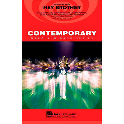 Hal Leonard Hey Brother - Pep Band/Marching Band Level 3