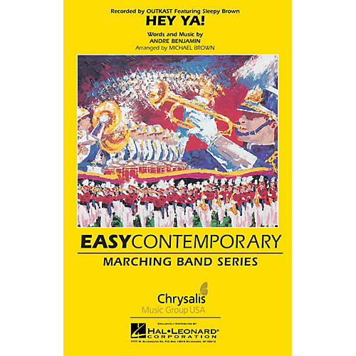 Hal Leonard Hey Ya! Marching Band Level 2 Arranged by Michael Brown