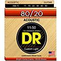 DR Strings Hi-Beam 80/20 Medium Lite Acoustic Guitar Strings thumbnail