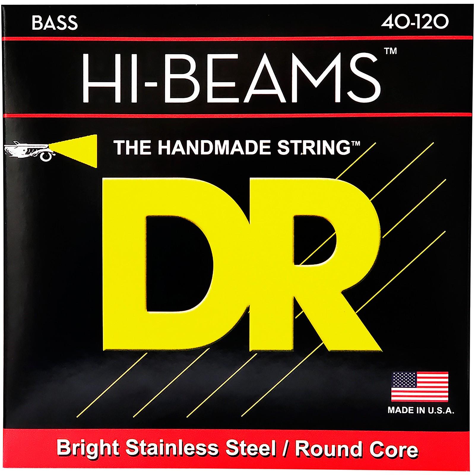 DR Strings Hi-Beams Light 5-String Bass Strings