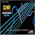 DR Strings Hi-Def NEON Blue Coated Medium (10-46) Electric Guitar Strings thumbnail