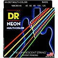 DR Strings Hi-Def NEON Multi-Color Coated Medium 5-String Bass Strings thumbnail