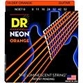 DR Strings Hi-Def NEON Orange Coated Lite 7-String Electric Guitar Strings (9-52) thumbnail