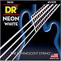 DR Strings Hi-Def NEON White Coated Medium 4-String Bass Strings thumbnail