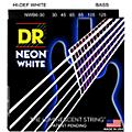 DR Strings Hi-Def NEON White Coated Medium 6-String Bass Strings thumbnail