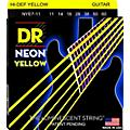 DR Strings Hi-Def NEON Yellow Coated Heavy 7-String Electric Guitar Strings (11-60) thumbnail