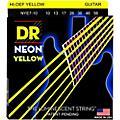 DR Strings Hi-Def NEON Yellow Coated Medium 7-String Electric Guitar Strings (10-56) thumbnail
