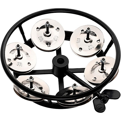 Meinl Hi-Hat Tambourine Black