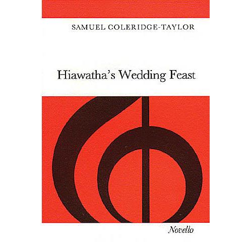Novello Hiawatha's Wedding Feast SATB Composed by Samuel Coleridge-Taylor