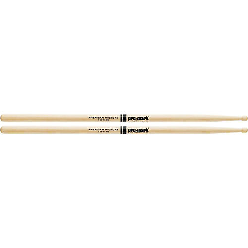 PROMARK Hickory 5A Pro-Round Wood Tip Drumsticks