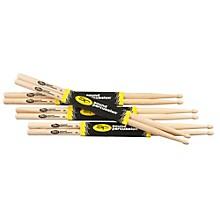 Hickory Drum Sticks 4-Pack 5A Wood