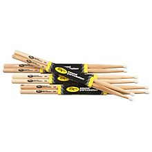 Hickory Drum Sticks 4-Pack 5B Nylon
