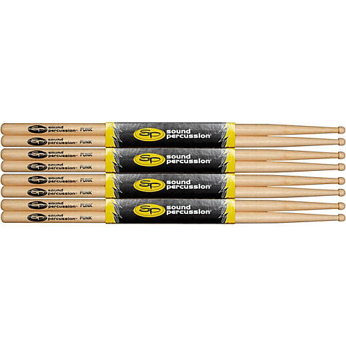 Sound Percussion Labs Hickory Drum Sticks 4-Pack