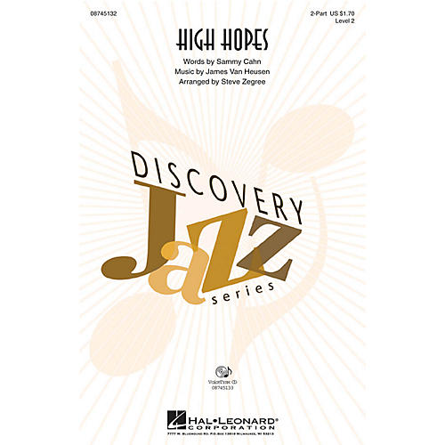 Hal Leonard High Hopes VoiceTrax CD Arranged by Steve Zegree