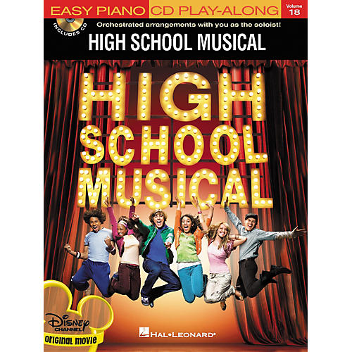 Hal Leonard High School Musical - Easy Piano CD Play-Along Volume 18 (Book/CD Package)