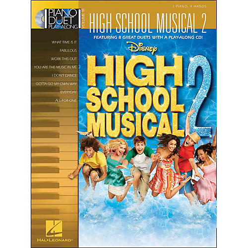 Hal Leonard High School Musical 2 Piano Duet Play-Along Volume 18 Book/CD
