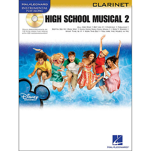 Hal Leonard High School Musical 2 for Clarinet Book/CD